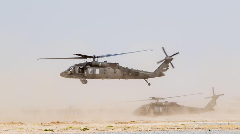 Luftangriffe zerstören 22 Drogenfabriken in Afghanistan in vier Tagen