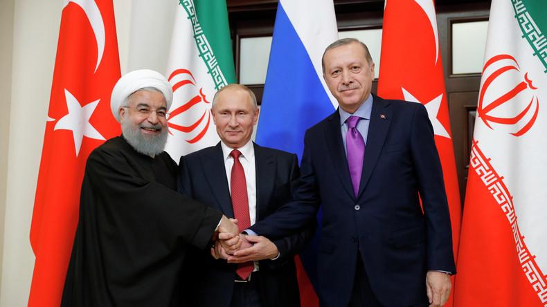 """Syrien-Gespräche: """"Schritte in Richtung freier Wahlen sowie Sicherheit und Stabilität in Syrien"""""""