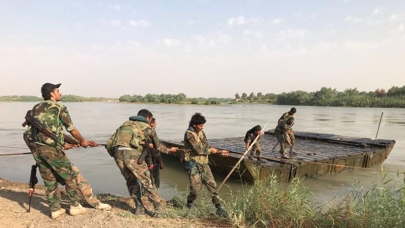 """Syrische Armee startet mit russischer Unterstützung Angriff gegen """"Islamischen Staat"""" im Euphrattal"""