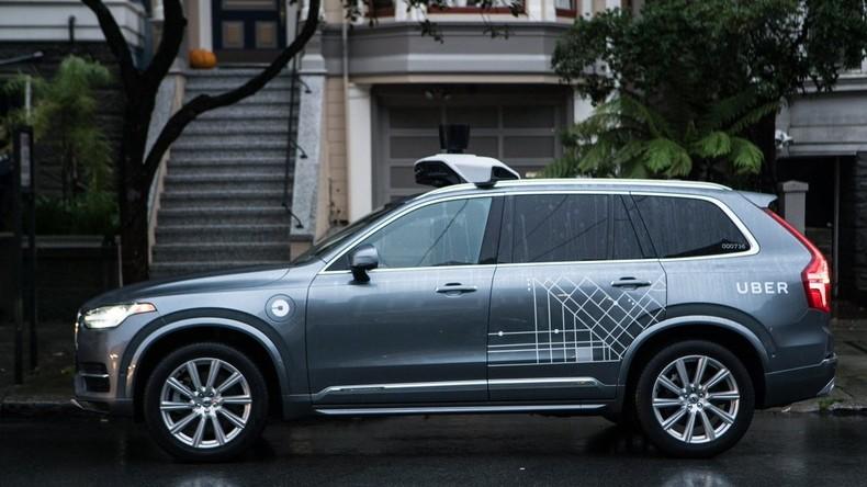 Uber bestellt 24.000 Wagen von Volvo für selbstfahrende Autoflotte