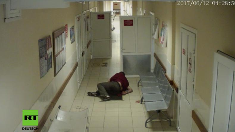 Hat Klinik Patienten einfach auf dem Flur sterben lassen? Schockierendes Video aus Russland