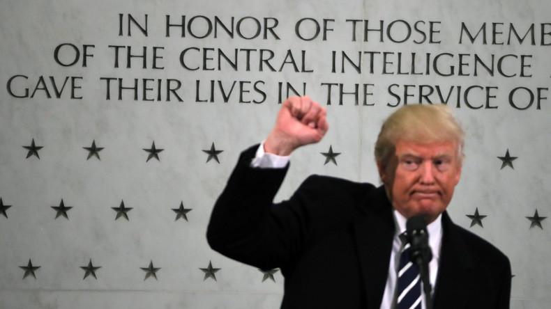 Medienbericht: CIA warnte Israel, Trump sei von Moskau erpressbar und nicht vertrauenswürdig