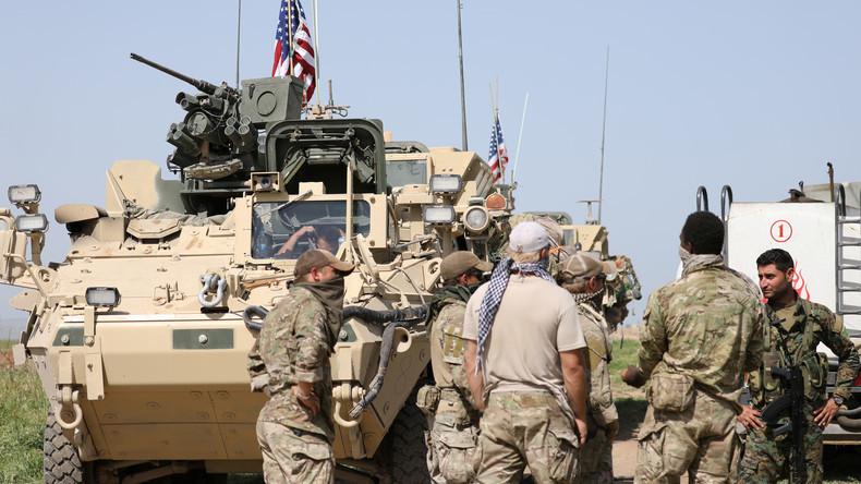 Wegen Iran: US-Armee will auf unbestimmte Zeit in Syrien stationiert bleiben