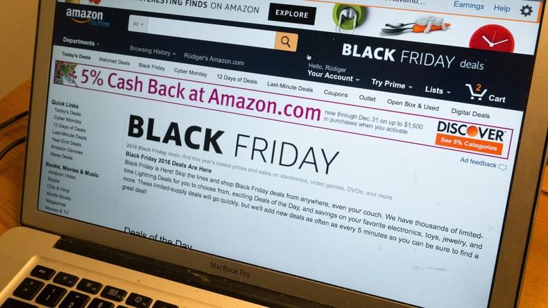 """Viel Arbeit, wenig Personal: Große Streiks bei Amazon am """"Black Friday"""""""