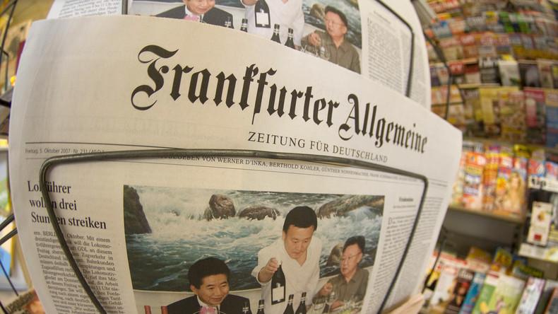 FAZ trägt Aluhut: Ist das noch Journalismus oder schon Stellungskrieg?