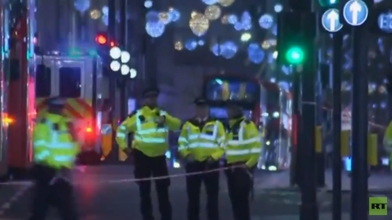 LIVE: Londons Oxford Circus wird evakuiert nach Berichten über einen Zwischenfall