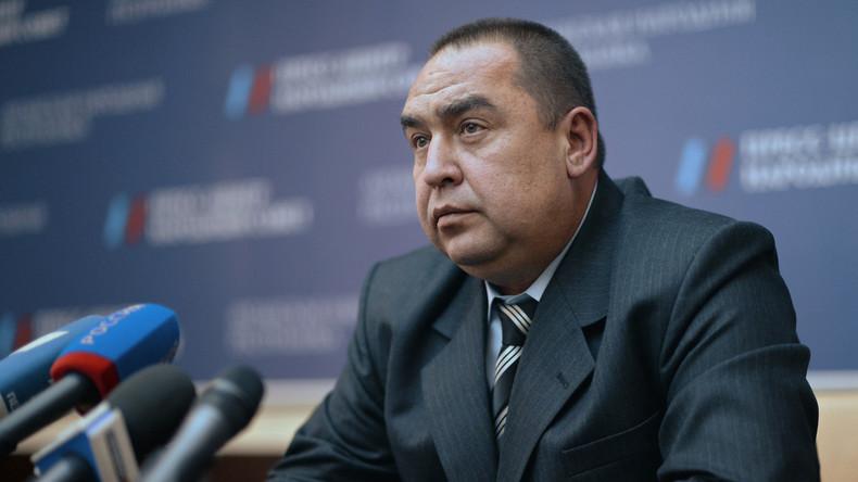 Chef der Volksrepublik Lugansk tritt zurück