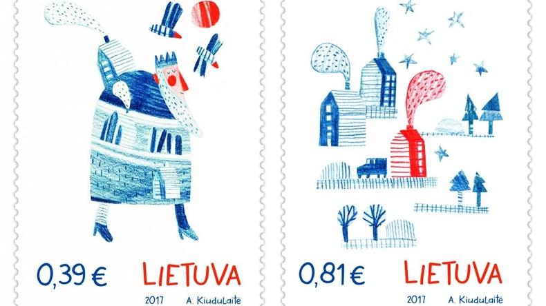 Litauens Post bringt Briefmarken mit Lebkuchen-Geruch heraus