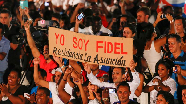 Fidel Castros erster Todestag: Kubaner gedenken des Revolutionsführers