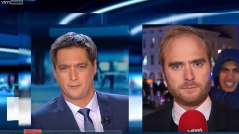 Wieder Gewalt in Brüssel: Reporter attackiert, Plünderungen und Vandalismus - Über 70 Festnahmen