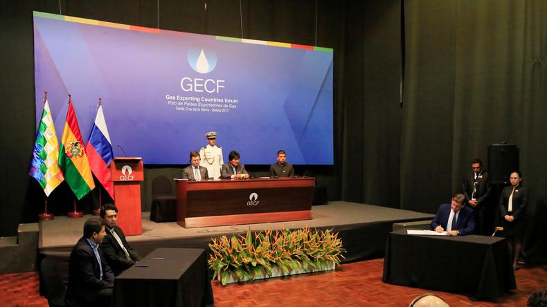 Warnung vor US-Manipulation: Erdgas exportierende Länder trafen sich zum Gipfeltreffen in Bolivien