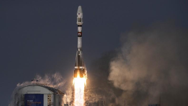 Weltraumbahnhof Wostotschny: Sojus-Rakete befördert Wettersatelliten zur Umlaufbahn