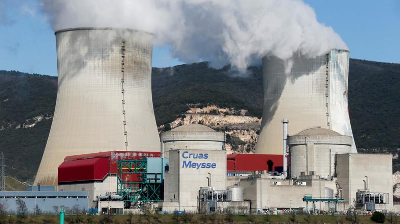 Französisches AKW-Gelände erneut Schauplatz für Greenpeace-Aktion