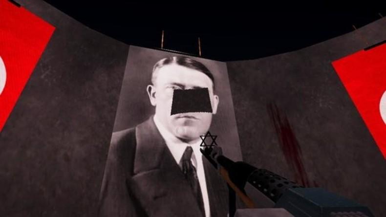 Parodie auf zensiertes Computerspiel: Jagd auf Hitlers Schnurrbart
