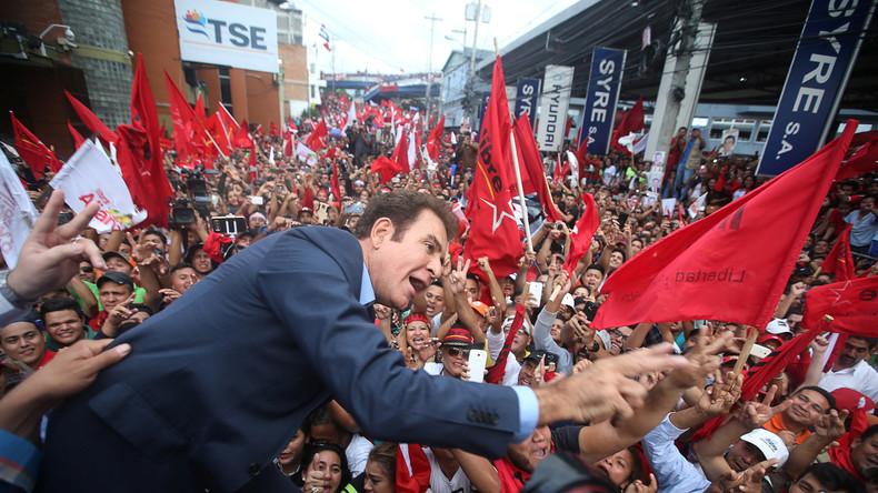 """Präsidentenwahl in Honduras: Linke """"Allianz gegen die Diktatur"""" vor dem Sieg"""