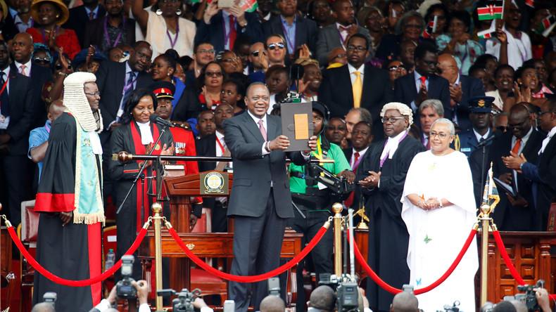 Kenianischer Präsident Kenyatta zur zweiten Amtszeit vereidigt