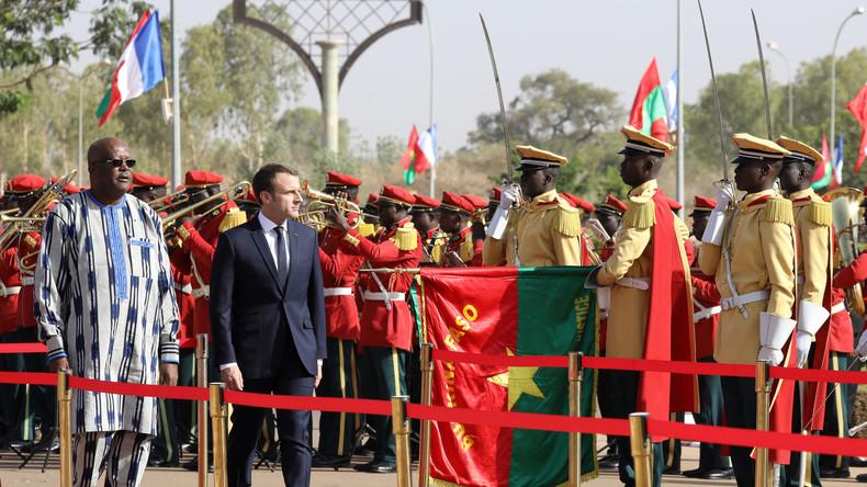 Angriff auf französische Soldaten kurz vor Macron-Besuch in Burkina Faso