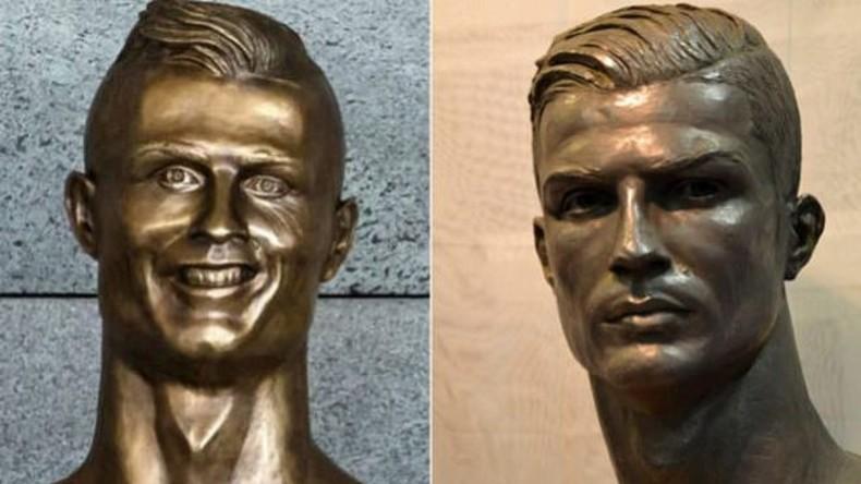 Christiano Ronaldo hat neues Denkmal - diesmal realistisch