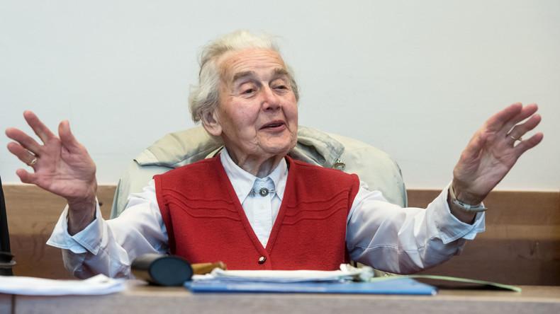 Gerichtsurteil: 14 Monate Haft für 88-jährige Holocaust-Leugnerin Ursula Haverbeck