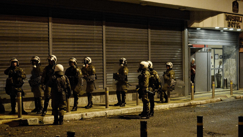Bei Razzia der griechischen Polizei vor Besuch von Erdogan neun Türken in Gewahrsam genommen