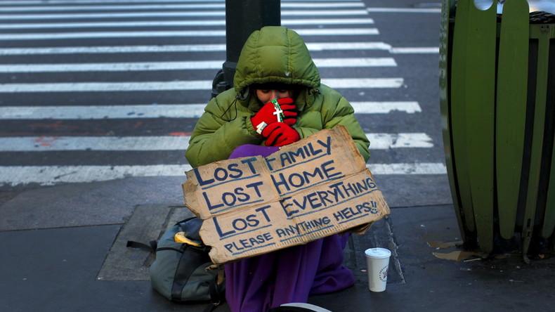 New Yorks neue, große Depression: Rekordzahl Obdachloser