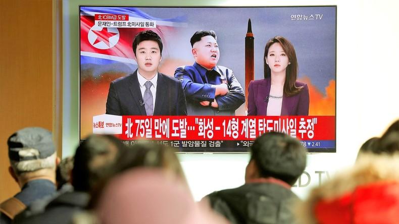 Nordkorea droht