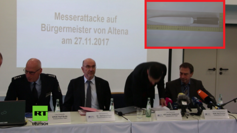 Messerattentat auf Bürgermeister in Altena: Täter gesteht liberale Flüchtlingspolitik als Tatmotiv