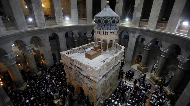 Wissenschaftler weisen tatsächliches Alter des Grabes Jesu nach