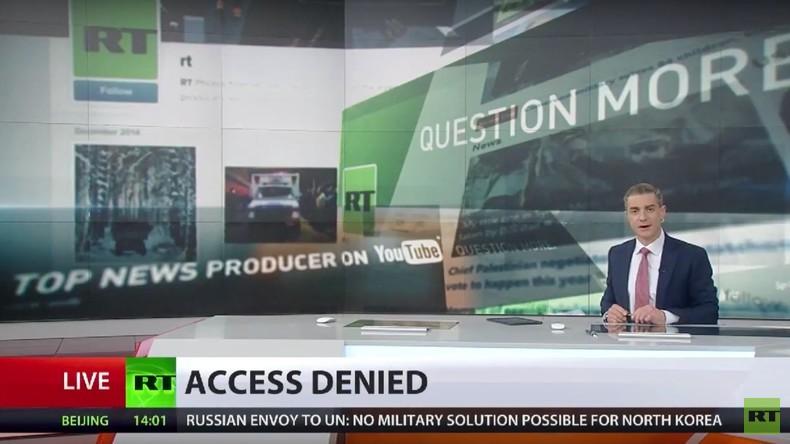 """US-Kongress entzieht RT Akkreditierung wegen Status als """" ausländischer Agent"""" [Video]"""