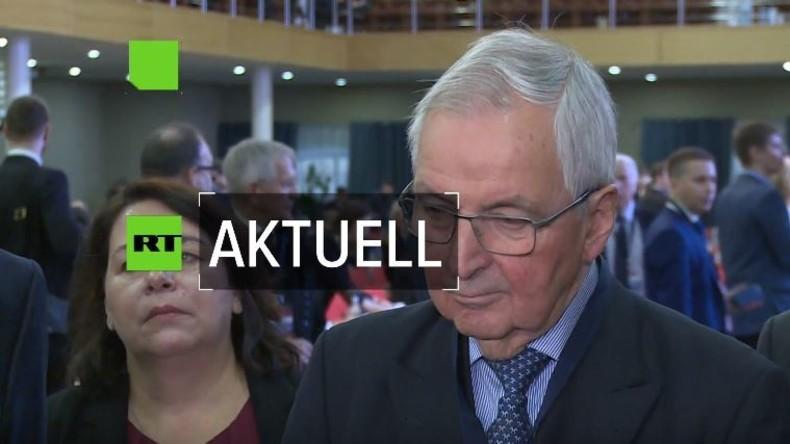 Bundesumweltminister a.D. Klaus Töpfer zur deutsch-russischen Zusammenarbeit in der Rohstoffnutzung