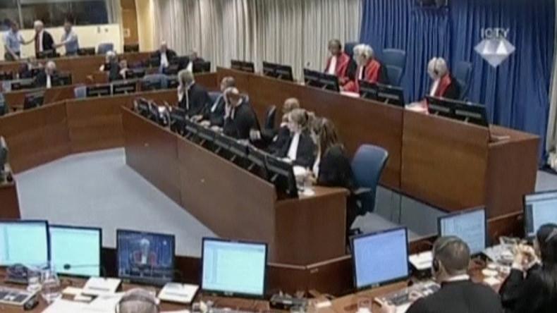 Sinnbild des Versagens: Die Geschichte des Haager Tribunals endet mit Selbstmord