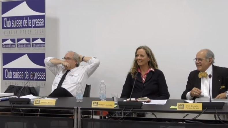 Wegen Kritik an Weißhelmen: Reporter ohne Grenzen wollen Schweizer Presseclub zum Schweigen bringen