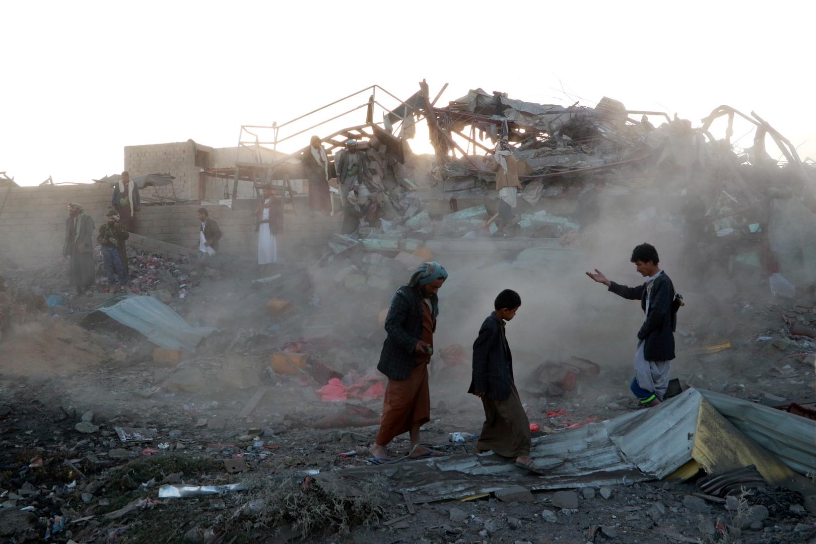 Jemen: Saudischer Luftangriff auf Markt in Saada tötet 26 Menschen
