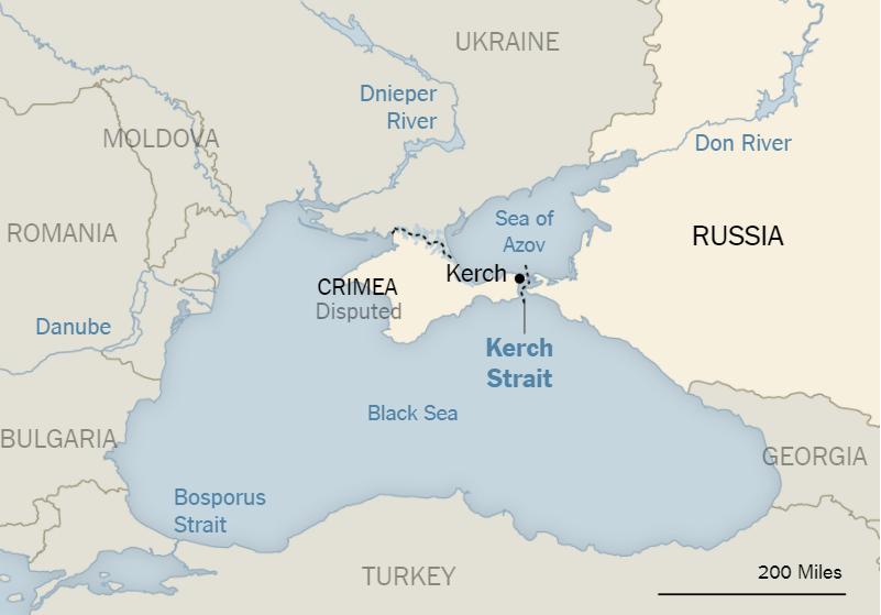 Umstritten, aber russisch: New York Times färbt Krim in gleicher Farbe wie Russland ein