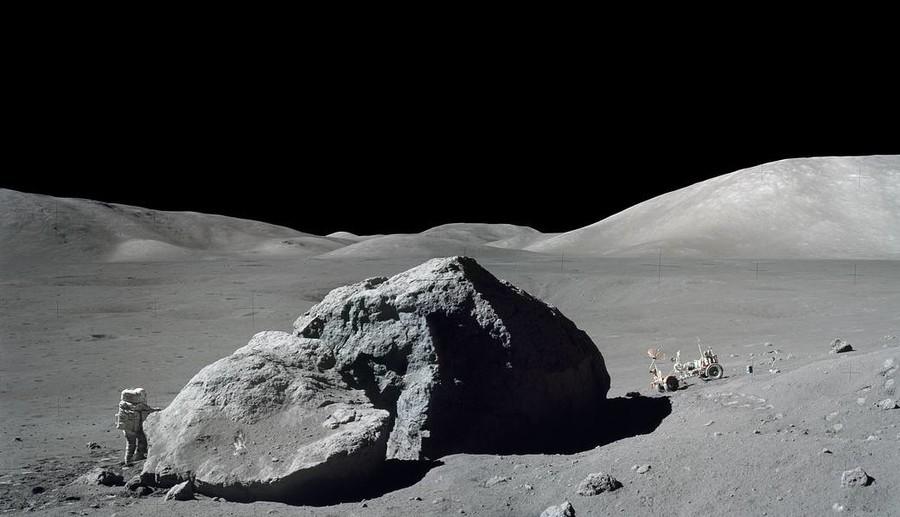 Mondlandung 1972: Neue Nahrung für Verschwörungstheoretiker