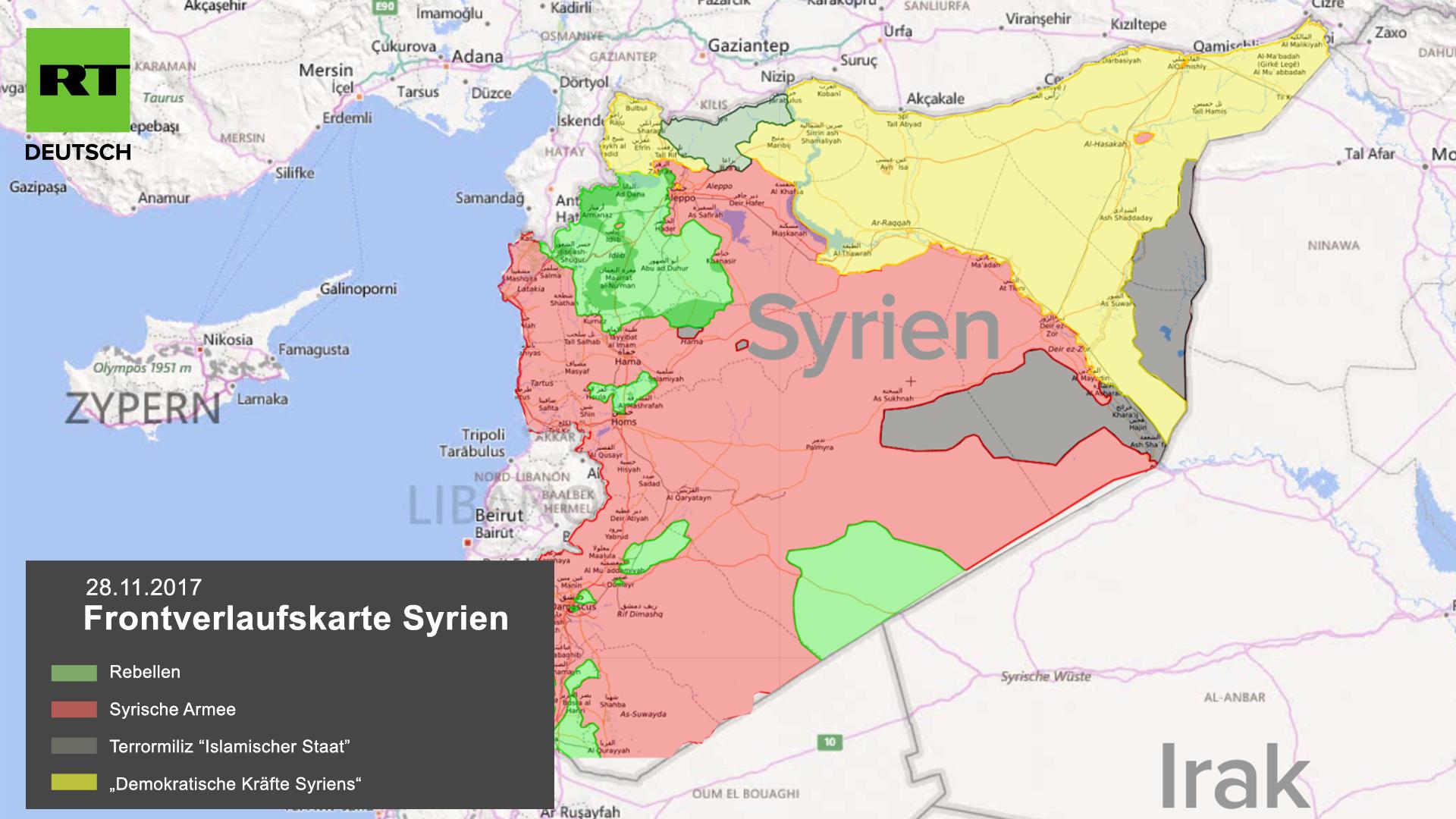 """RT Deutsch-Exklusiv: """"Leak beweist Kooperation zwischen US-Verbündetem SDF und Islamischem Staat"""""""