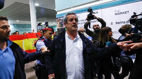 Der abgesetzte katalanische Innenminister Joaquim Forn