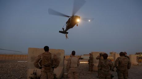 Symbolbild - US-Truppen erwarten Nachschublieferung