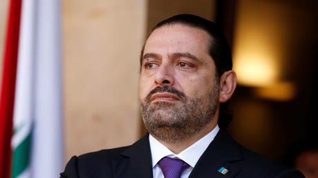 Der zurückgetretene libanesische Ministerpräsident Saad al-Hariri in Beirut, Libanon, 24. Oktober 2017.
