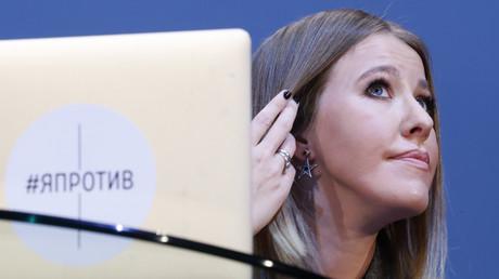 Die russische Fernsehmoderatorin Xenia Sobtschak möchte den derzeitigen Präsidenten Russlands, Wladimir Putin, in den Wahlen 2018 herausfordern, Moskau, 24. Oktober 2017, Quelle: Reuters.