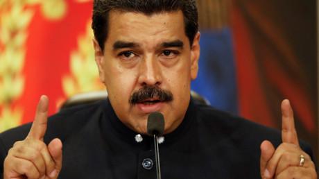 Bekommt etwas mehr Zeit: Venezuelas Präsident Nicolás Maduro. Russland ist einer der entscheidenden Kreditgeber des südamerikanischen Landes, dessen Gesamtauslandsverschuldung 100 Milliarden US-Dollar übersteigt.