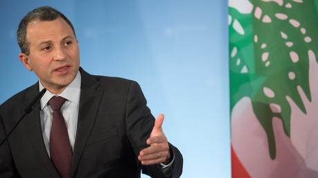 Laut dem libanesischen Außenminister Gebran Bassil wird sein Land eingeschüchtert, um ein gemeinsames Gasprojekt mit Russland zu verhindern.