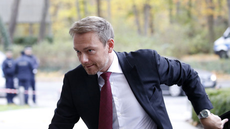 FDP-Chef Christian Lindner in Berlin, Deutschland, 19. November 2017.