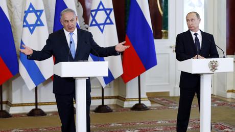 Wladimir Putin und Benjamin Netanjahu, Moskau, Russland, 7. Juni 2016