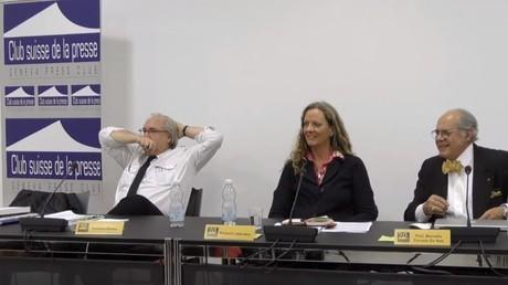 Der Schweizer Presseclub hielt eine Pressekonferenz in Genf ab, die sich kritisch mit den syrischen Weißhelmen auseinandersetzte. Sehr zum Missfallen der Reporter ohne Grenzen (aber mit Agenda).