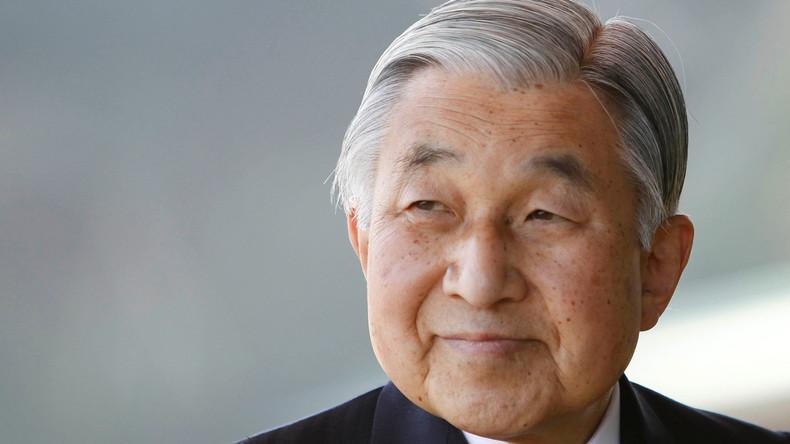 Japanischer Kaiser gibt Datum seiner Abdankung bekannt