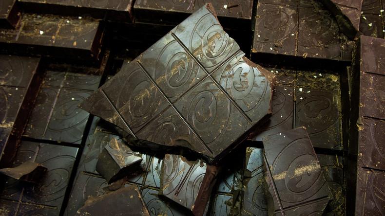Schokoladendiebstahl auf Weihnachtsmarkt in Karlsruhe - über 4.000 Tafeln sichergestellt