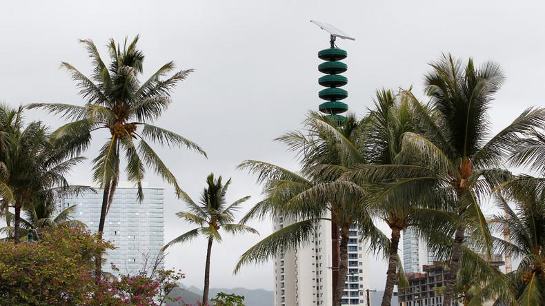 US-Bundesstaat Hawaii testet Warnung vor Atomangriff
