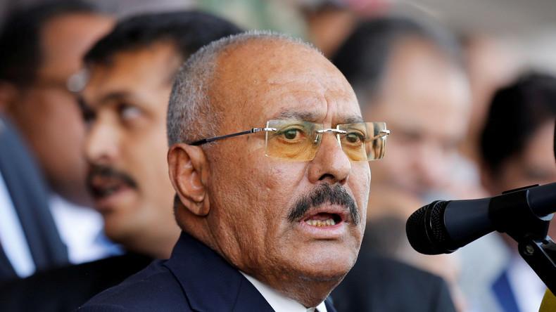 Jemens Ex-Präsident Ali Abdullah Saleh plädiert für Gespräche mit verfeindeten Nachbarn