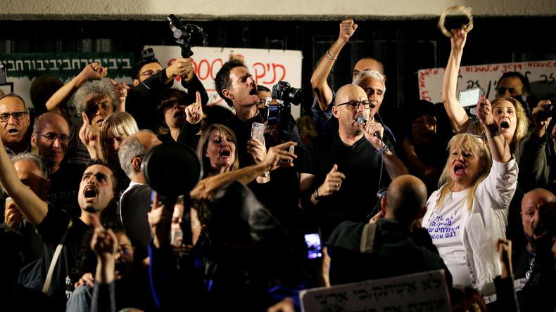 Zehntausende demonstrieren in Israel gegen Ministerpräsident Benjamin Netanjahu